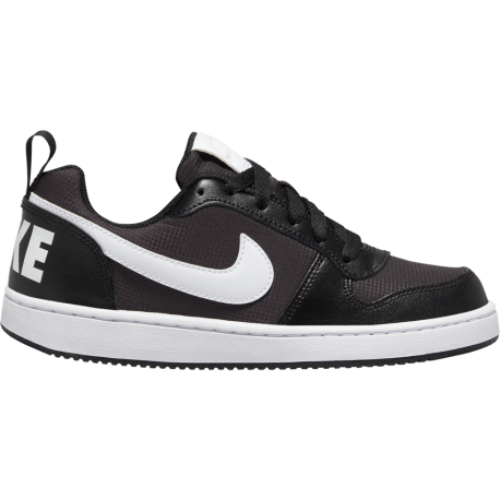 Nike Sneakers Court Borought Pe Low Gs Nero Bianco Bambino