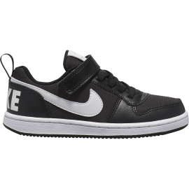 Nike Sneakers Court Borought Pe Low Psv Nero Bianco Bambino