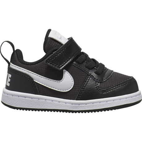 Nike Sneakers Court Borought Pe Low Tdv Nero Bianco Bambino