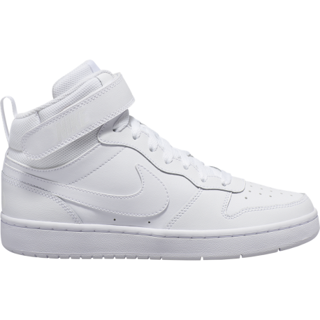 Nike Sneakers Court Borought Mid 2 Gs Bianco Bambino