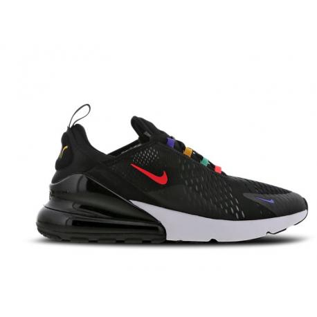 Nike Sneakers Air Max 270 Nero Rosso Uomo