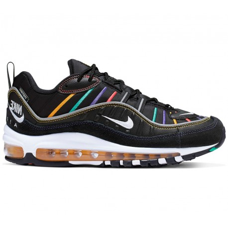 Nike Sneakers Am 98 Prm Nero Oro Donna