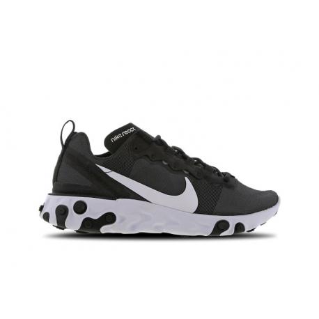 Nike Sneakers React 55 Nero Bianco Donna