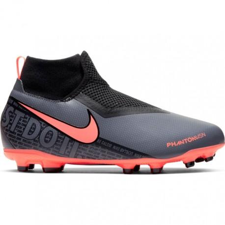 Nike Scarpe Da Calcio Phantom Vision Academy FgMg Giallo Bambino