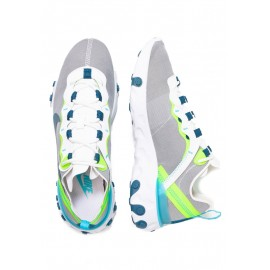 Nike Sneakers React 55 Bianco Verde Donna