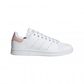 ADIDAS originals sneakers stan smith j scritta gs bianco rosa bambino