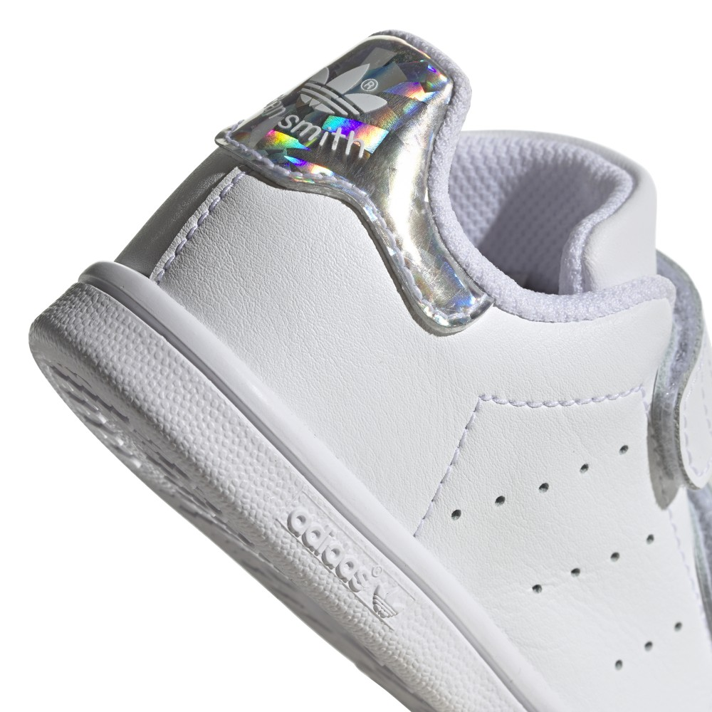ADIDAS originals sneakers stan smith cf i td bianco argento