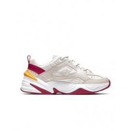 Nike Sneakers M2k Tekno Sabbia Bordeaux Donna