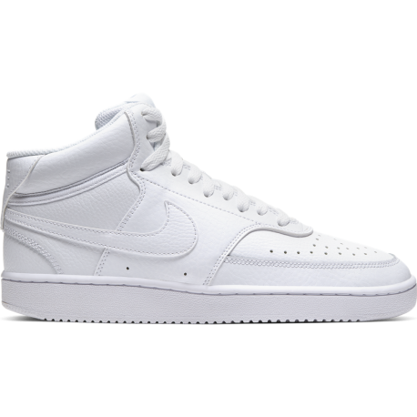Nike Sneakers Court Vision Mid Bianco Donna