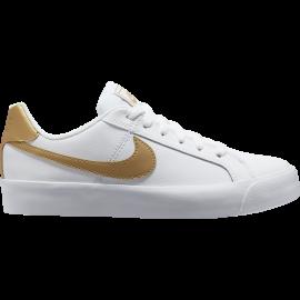 Nike Sneakers Court Royal Ac Bianco Bronzo Donna
