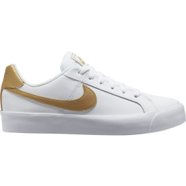 Nike Sneakers Court Royal Ac Bianco Bronzo Donna