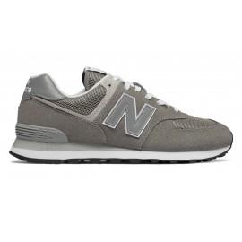 New Balance Sneakers Nb 574 Mesh Grigio Argento Uomo