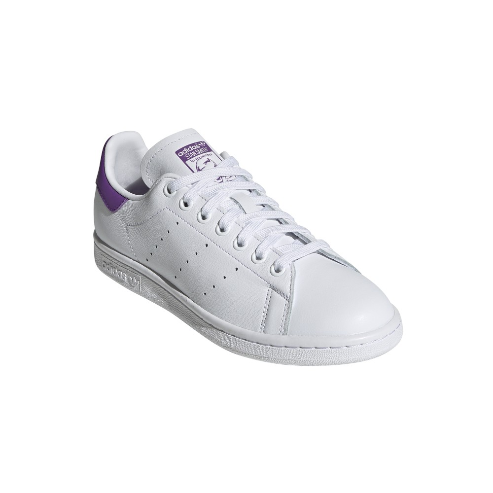 ADIDAS originals sneakers stan smith lea bianco viola donna