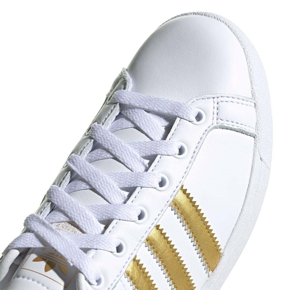 adidas bianco oro