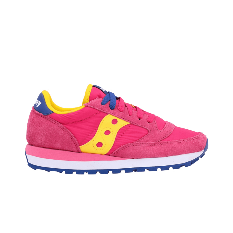 1bd039f364 Saucony Sneakers Jazz O Fuxia Giallo Donna