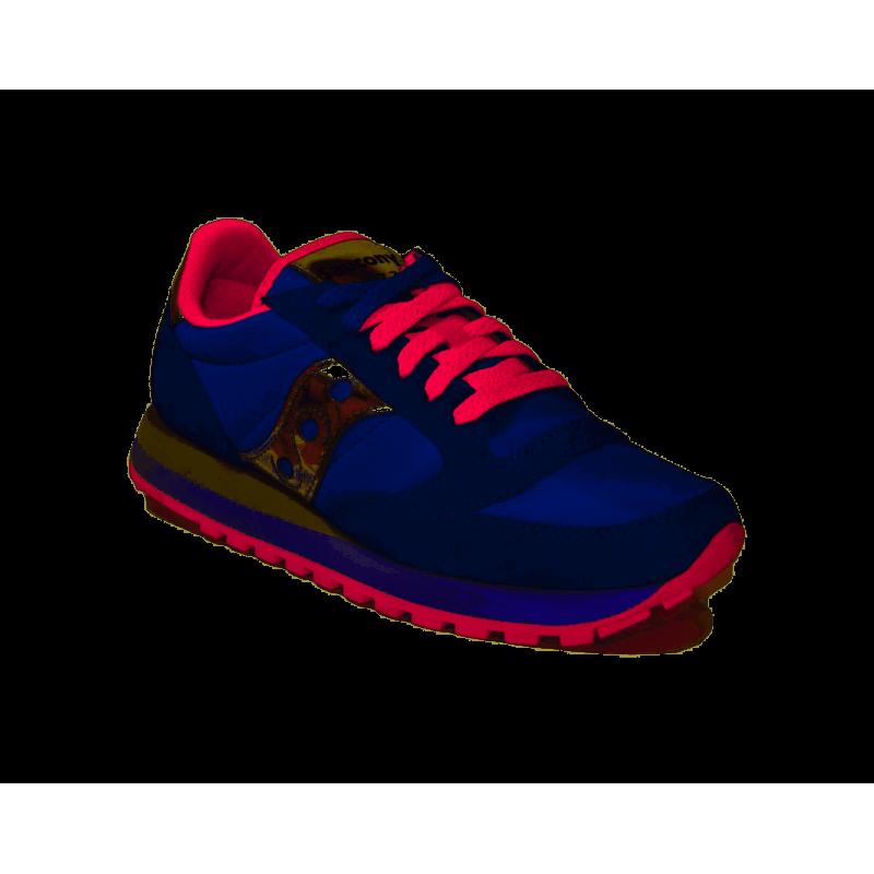2b77398160 Saucony Sneakers Jazz O Blu Fuxia Donna