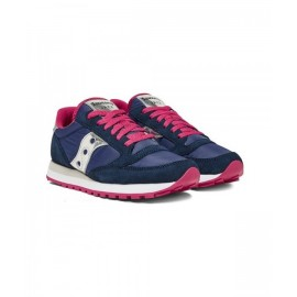 Saucony Sneakers Jazz O Blu Fuxia Donna