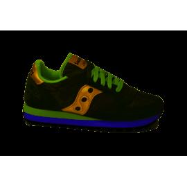 Saucony Sneakers Jazz O Verde Oro Donna