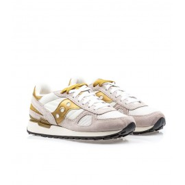 6ec35792ab Saucony Sneakers Shadow O Panna Oro Donna