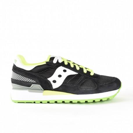 Saucony Sneakers Shadow O Grigio Bianco Uomo