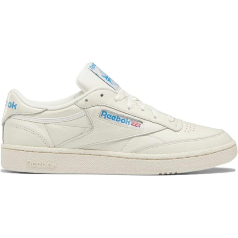 Reebok Sneakers Club C 85 Mu Bianco Blu Uomo