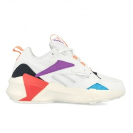 Reebok Sneakers Aztrek Bianco Viola Donna