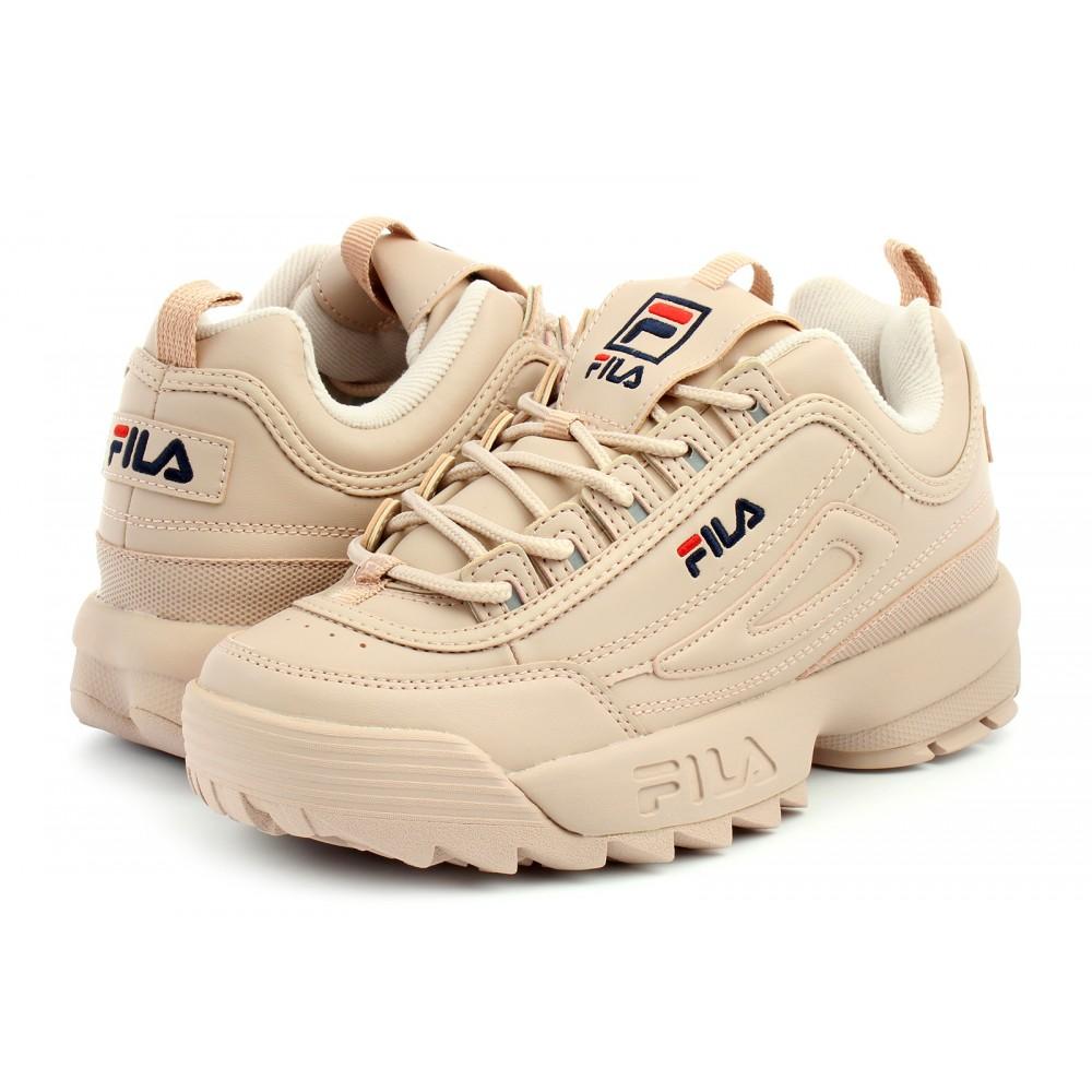 Fila Sneakers Disruptor Low Rosa Smoke Donna Acquista