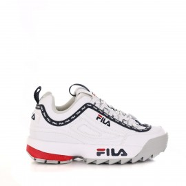Fila Sneakers Disruptor Logo Low Bianco Donna