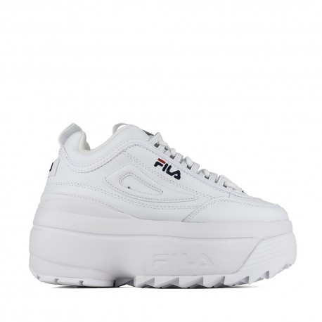 Fila Sneakers Disruptor Ii Wedge Bianco Donna