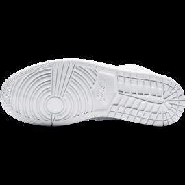 Nike Sneakers Air Jordan 1 Mid Bianco Uomo