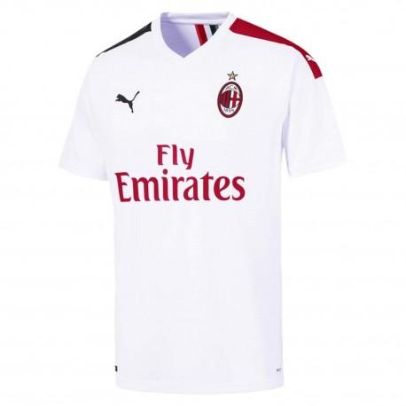Puma Maglia Calcio Milan Away 19 20 Bianco Rosso Nero Uomo