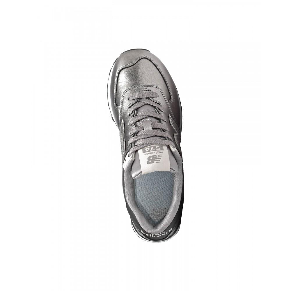 new balance 574 argento donna