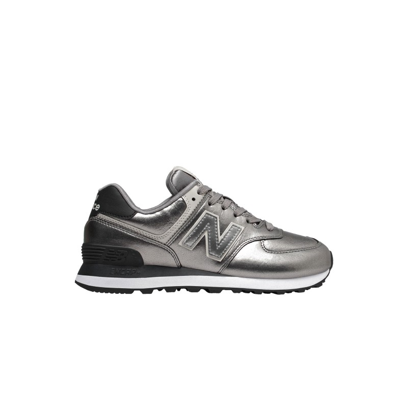 New Balance Sneakers Nb 574 Argento Donna