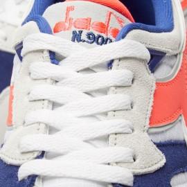 Diadora Sneakers N9002 Bianco Corallo Uomo