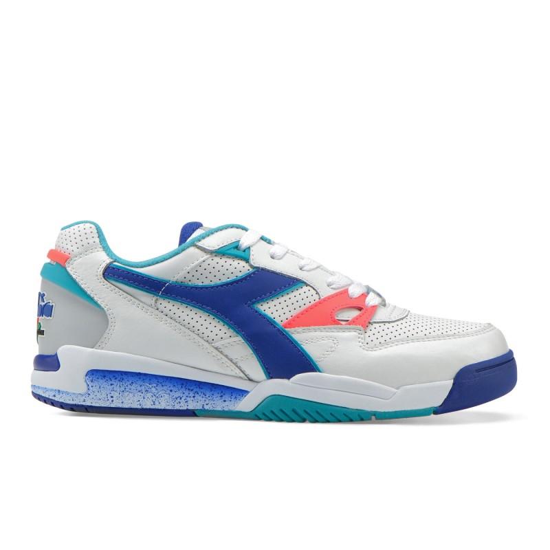 Diadora Sneakers Rebound Ace Bianco Blu Uomo
