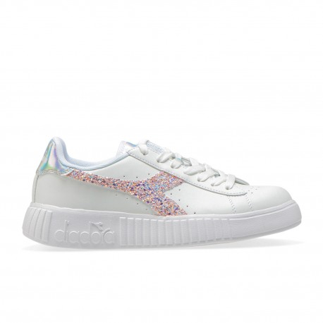 Diadora Sneakers Game P Step Bianco Donna
