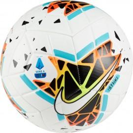 Nike Pallone Da Calcio Serie A Strike 19 20 Bianco Blu Uomo