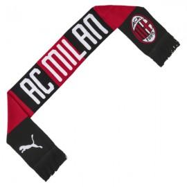Puma Sciarpa Calcio Milan 19 20 Rosso Nero Uomo
