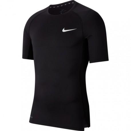 Nike Maglietta Palestra Comp Nero Uomo
