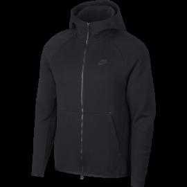 Nike Felpa Palestra Tech Fleece Nero Uomo