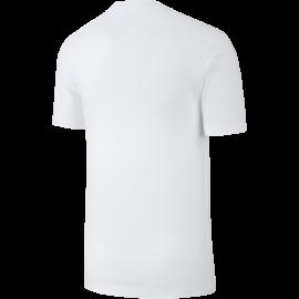 Nike Maglietta Palestra Just Do It Con Baffo Bianco Uomo