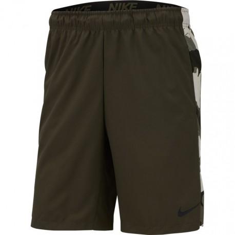 Nike Pantaloncino Palestra Banda Camou Grigio Uomo