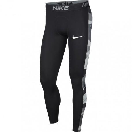 Nike Leggings Sportivi Banda Camou Nero Uomo