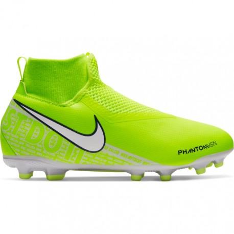 Nike Scarpe Da Calcio Phantom Vision Academy Fg Mg Giallo Bambino