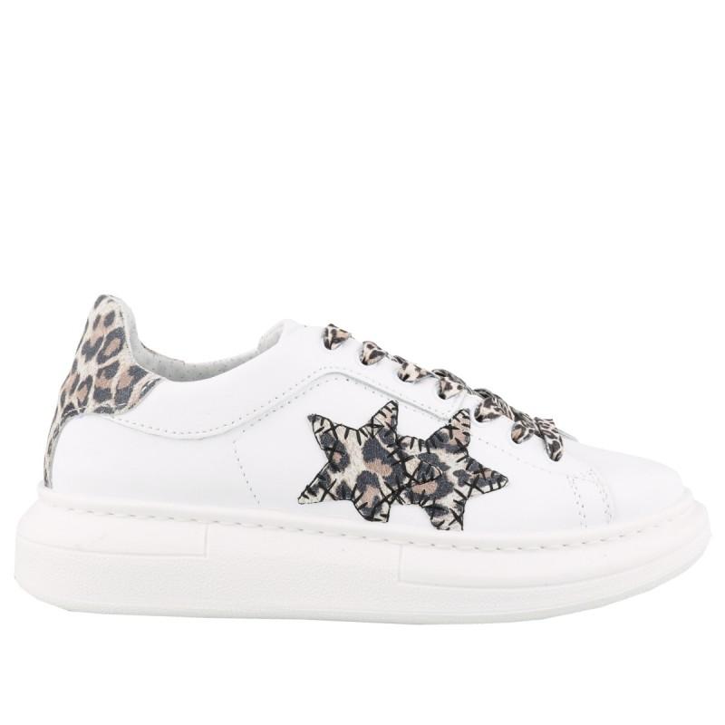 2stars Sneakers Elettra Lamborghini Bianco Maculato Donna