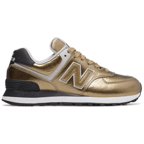 New Balance Sneakers Nb 574 Oro Donna
