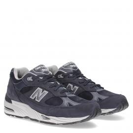 New Balance Sneakers 991 Blu Grigio Uomo