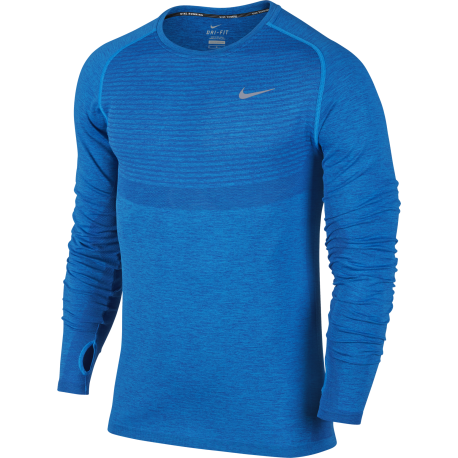 Nike T-Shirt Ml Run Dri-Fit Knit Deep Royal Blue
