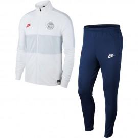 Nike Tuta Calcio Psg Strk Bianco Blu Uomo