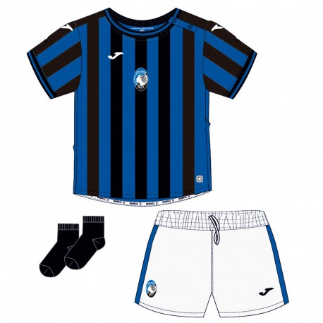 Joma Sport Mini Kit Atalanta 19/20 Blu Reale Bambino
